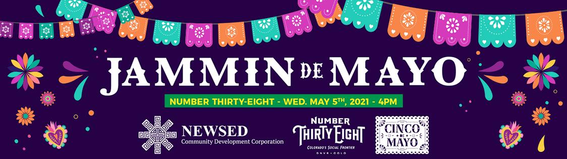 Jammin de Mayo fundraiser for NEWSED and Cinco de Mayo Denver